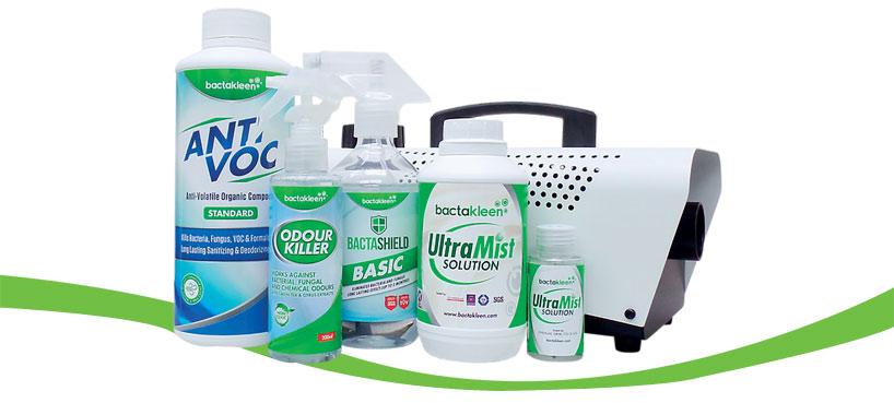 Bactakleen fertőtlenítő eszközök